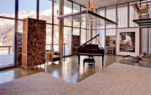 heinz julen loft luxury chalet 7