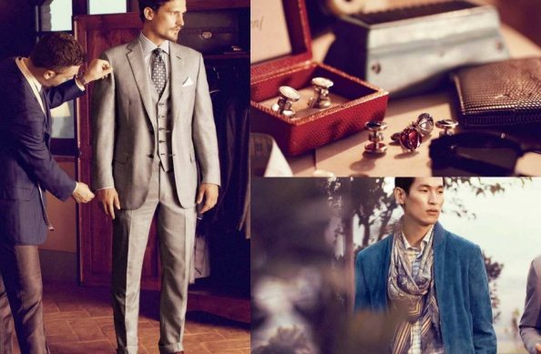 Getting tailored is back in a big way and men's haberdashers like Brioni are well poised to welcome men who care about what they put on.