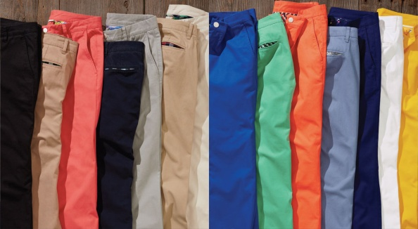 Bonobos washed chinos: Blackjacks, Graham Slackers, Redrums, Jetblues, Grey Dogs, The Khakis, Stone Cutters, Panta Monicas, Picklebacks, Sun Belts, Jet Streams, Blue Points, Bucking Blancos, Dandy Lions