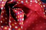 The folds of a Passaggio 'Cravat'