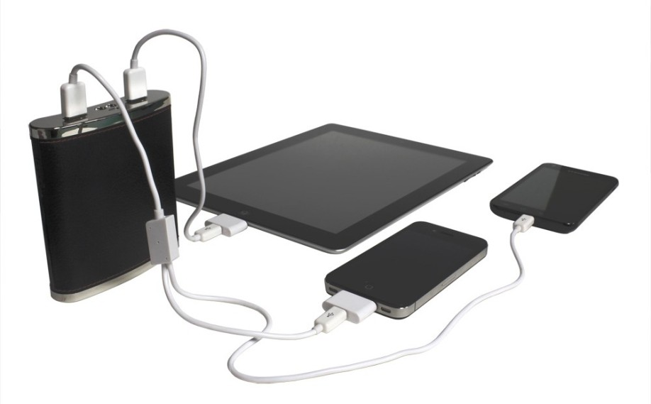 Stylish yet portable Charging for three devices simultaneously. No more fighting with the wife for USB ports!