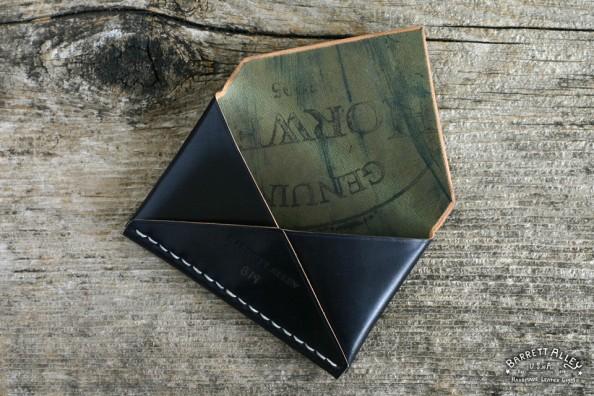 Barrett Alley Black shell cordovan Disciple Wallet 2