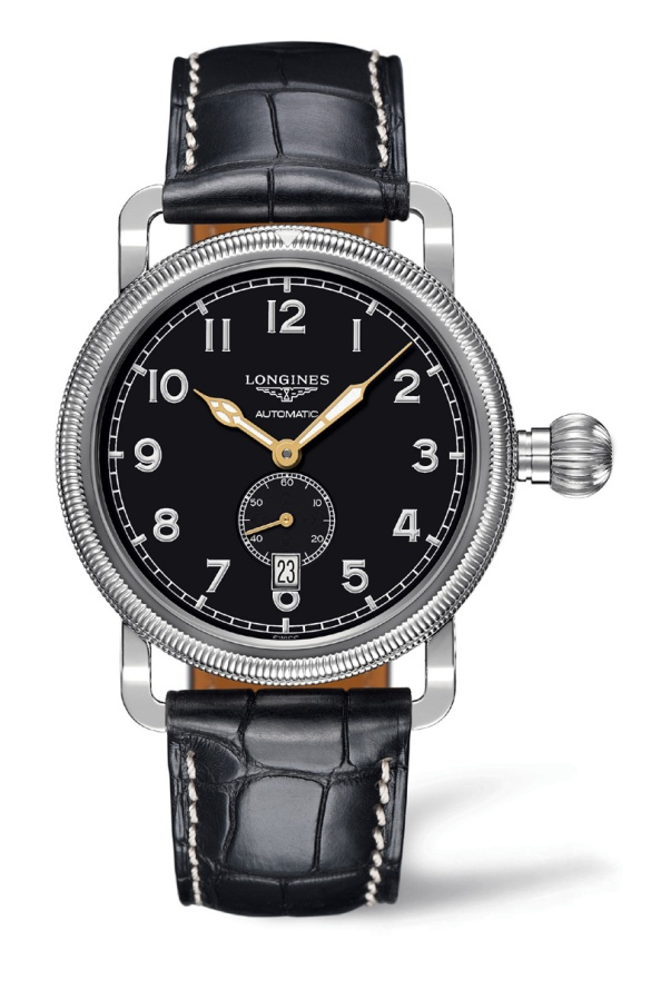 affordable classic watch- Longines Avigation Oversize Crown 4