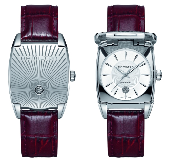 best value art deco gents watch -Hamilton_Flintridge_womens