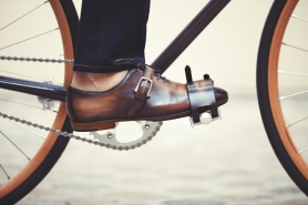 Ride Stylishly Berluti and Cycles Victoire Collaboration