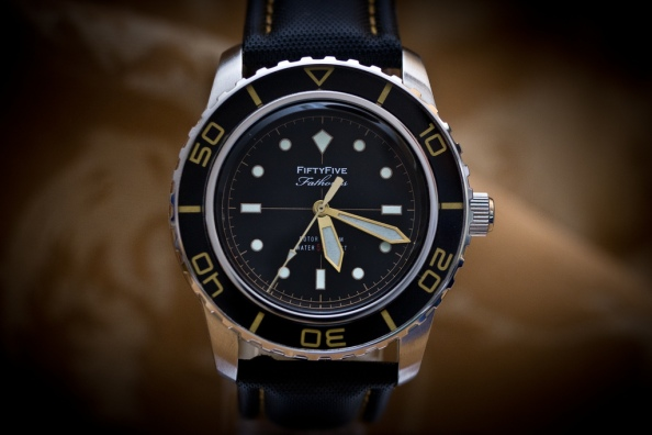 No. It doesn't go down to Fifty Five fathoms nevertheless, it will make even owners of a true Blancpain diver look again.