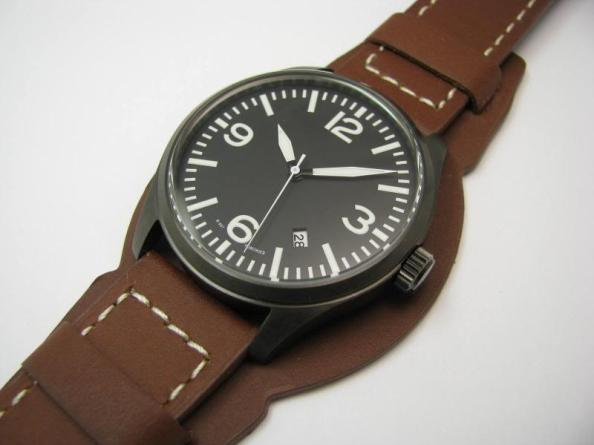 A Pilot's Watch built using an Orient base watch.