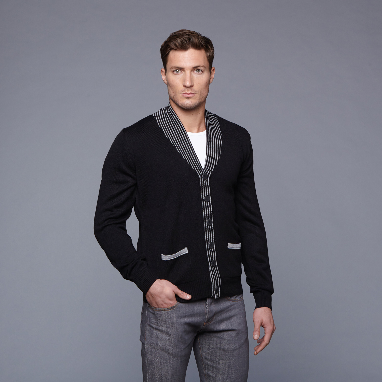 how to dress stylishly men – preppy style cardigan 2 | The Monsieur