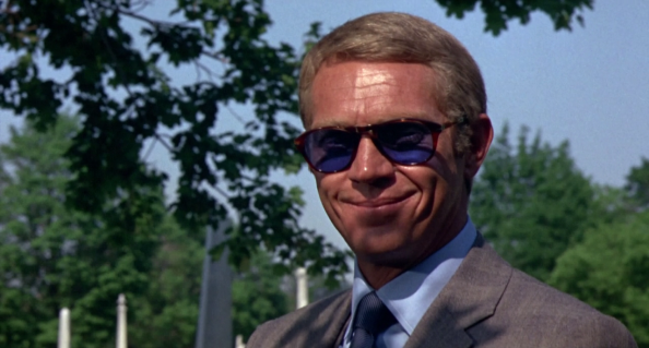 Popularised by Steve McQueen's donning of Persols in The Thomas Crown affair
