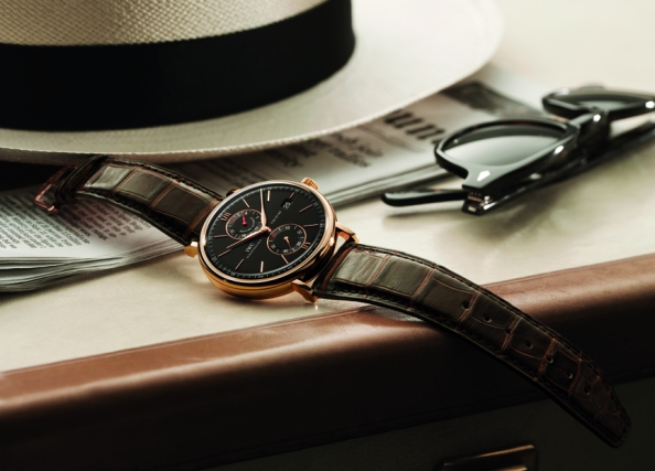 IWC matched with Panama hat and Ray Bans. You can't get classier than that.