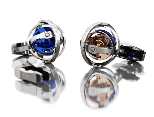 Tourbillon Desires- W Motors Encelade Gyro Cufflinks 1