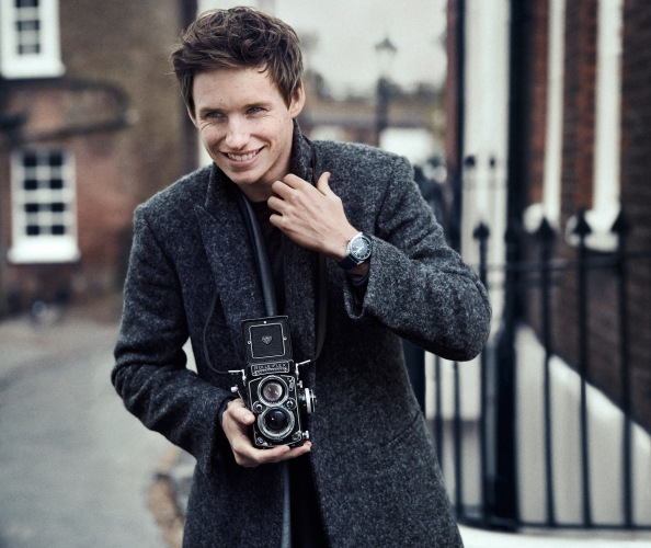 Watches for Gents- Eddie Redmayne for Omega