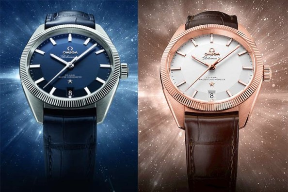 Eddie wears an Omega Globemaster from Baselworld 2015 for his campaign visual.