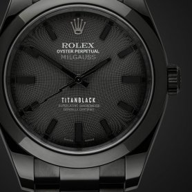 titanblack rolex milgauss gravity for the man who loves rolex but wants individuality 2