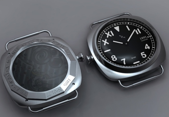 Italian watchmaking - Temporanea Manifattura Fiorillo 3882 AUTOMATICO PVD 8