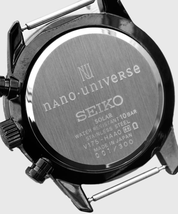 Seiko x Nano Bespoke Black StealthChrono 5