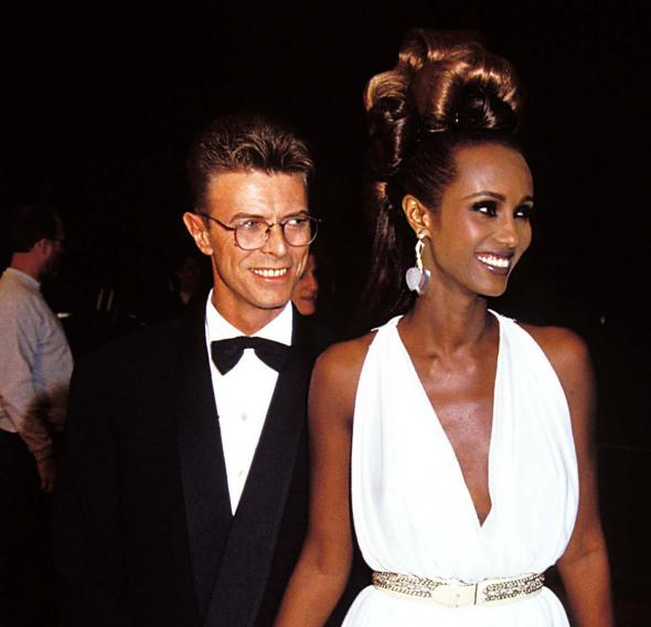 Mens Fashion Icon- David Bowie and Iman