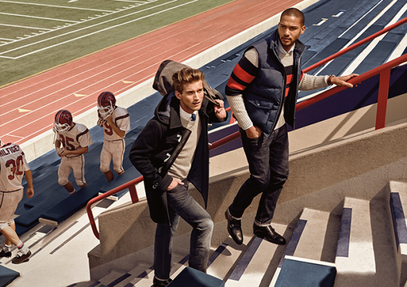 Will we see a return to the gentleman athlete as pictured here in Tommy Hilfiger's Fall 2015 collection?