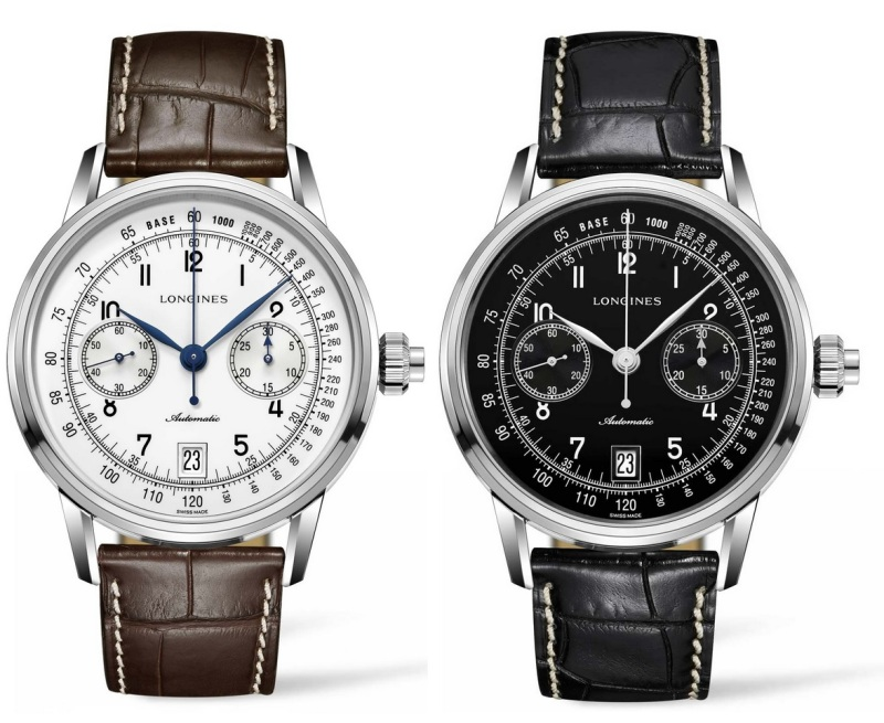 A Kingsman keeps track of time with a Longines Monopusher Chronograph